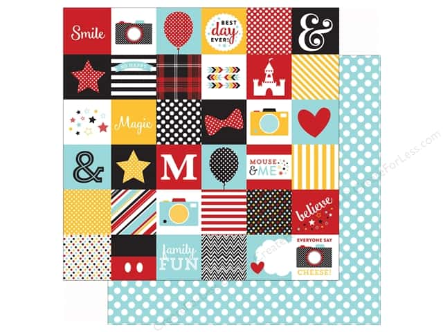 Echo Park 12 x 12 in. Paper Magical Adventure 2X2 Journaling Cards (25 sheets)