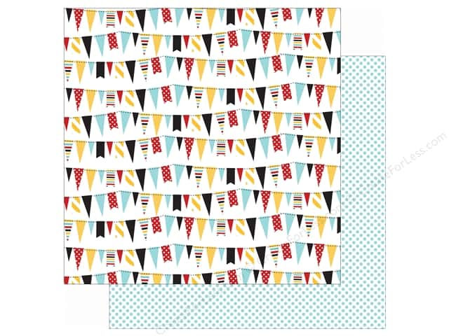 Echo Park 12 x 12 in. Paper Magical Adventure Festive Banners (25 sheets)