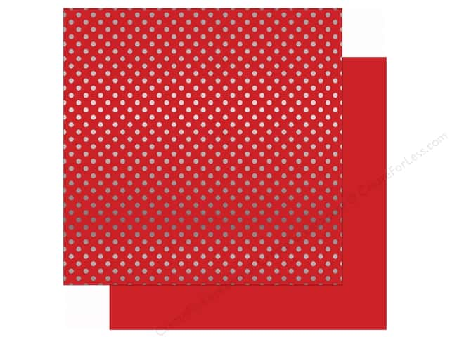 Echo Park 12 x 12 in. Paper Magical Adventure Red/Silver Dot (15 sheets)