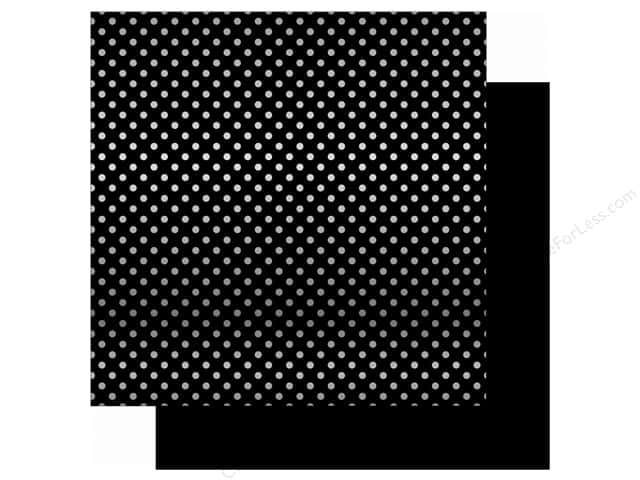 Echo Park 12 x 12 in. Paper Magical Adventure Black/Silver Dot (15 sheets)