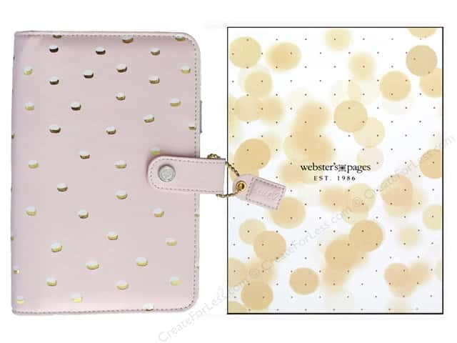 Webster's Pages Color Crush Personal Planner Blush & Gold