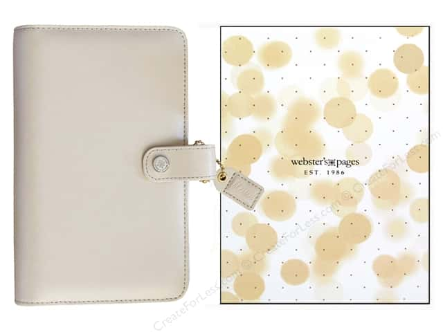 Webster's Pages Color Crush Personal Planner Binder Natural