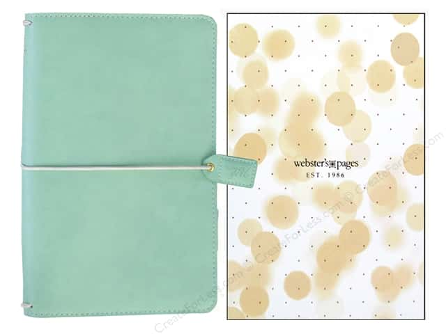 Webster's Pages Color Crush Travelers Notebook Mint