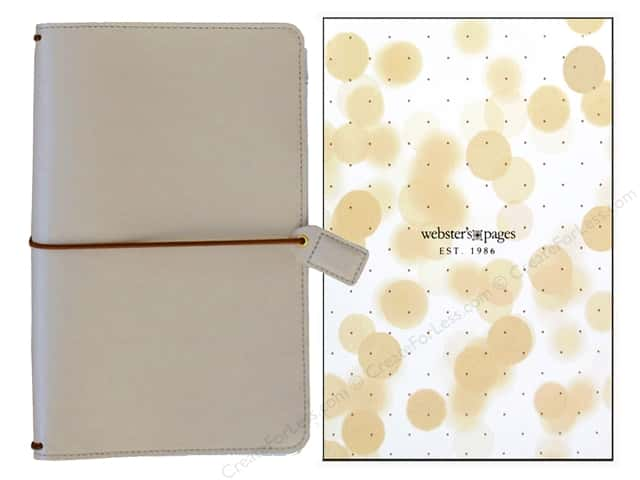 Webster's Pages Color Crush Travelers Notebook Natural