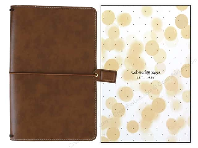 Webster's Pages Color Crush Travelers Notebook Walnut