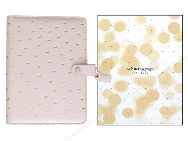 Webster's Pages Color Crush A5 Binder Blush & Gold