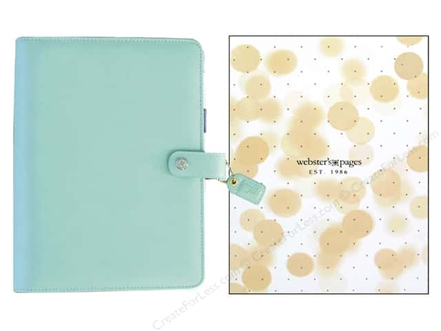 Webster's Pages Color Crush 2016 A5 Planner Kit Mint