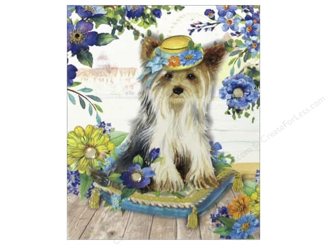 Punch Studio Pocket Note Pad Posh Pets Yorkie