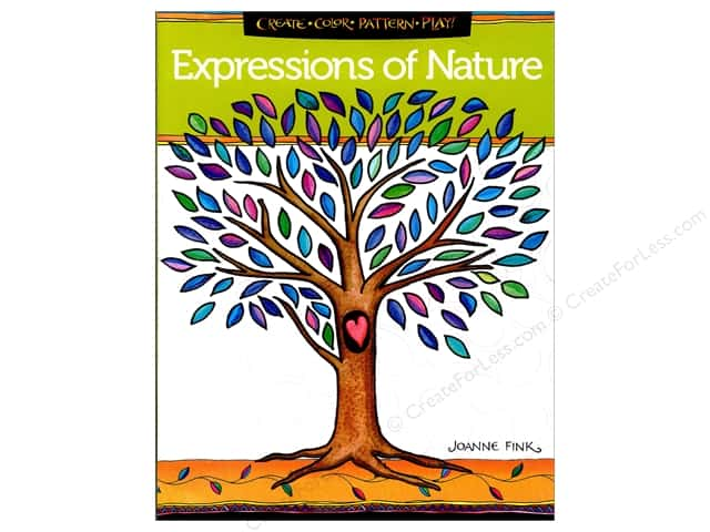 Design Originals Expressions Of Nature Coloring Book