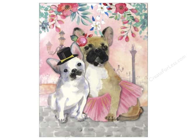 Punch Studio Pocket Note Pad Posh Pets French Bulldog