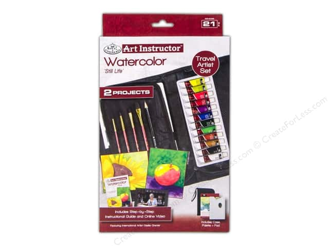 Royal Art Instructor Travel Set Watercolor