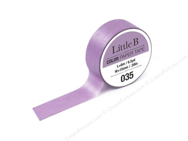 Little B Color Paper Tape 9/16 in. #035 Lavender