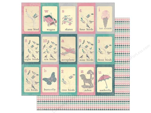 Authentique 12 x 12 in. Paper Darling Girl Four (25 sheets)