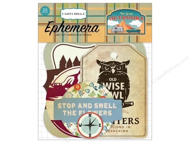 Carta Bella Ephemera Great Outdoors