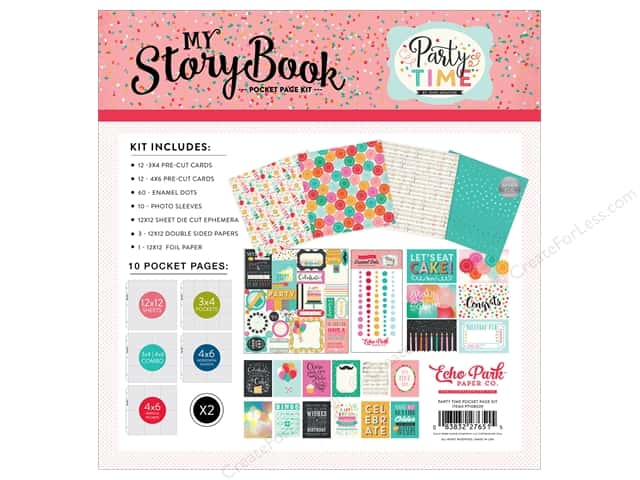 Echo Park Collection Party Time Pocket Page Kit