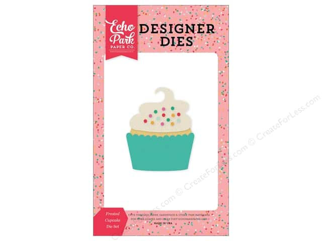 Echo Park Designer Dies Party Time Frosted Cupcake