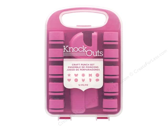 American Crafts Knock Outs Tool And Craft Punch Set