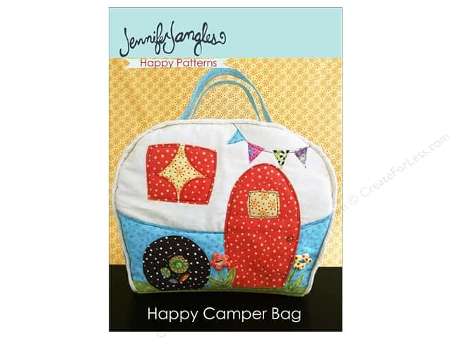 Jennifer Jangles Happy Camper Bag Sewing Pattern