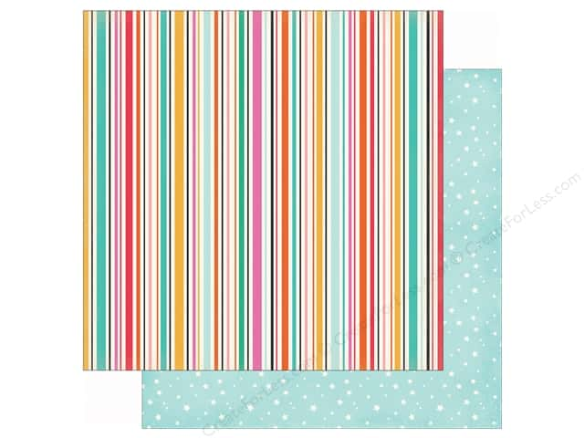 Echo Park 12 x 12 in. Paper Party Time Streamers (25 sheets)