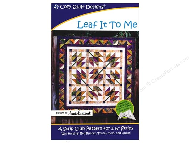 Cozy Quilt Designs Leaf It To Me Pattern