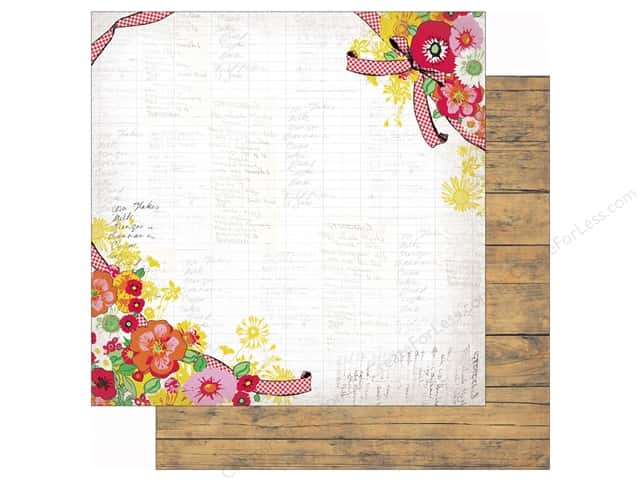 Authentique 12 x 12 in. Paper Cheerful Four (25 sheets)