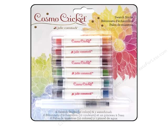 Cosmo Cricket Just Add Watercolor Swatch Sticks