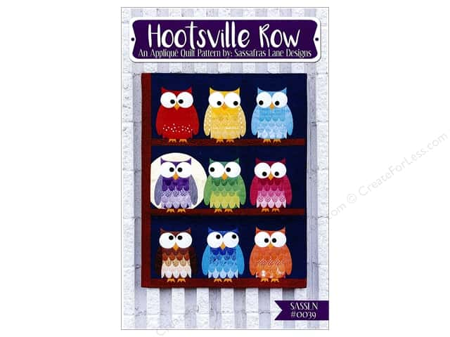 Sassafras Lane Designs Hootsville Row Pattern