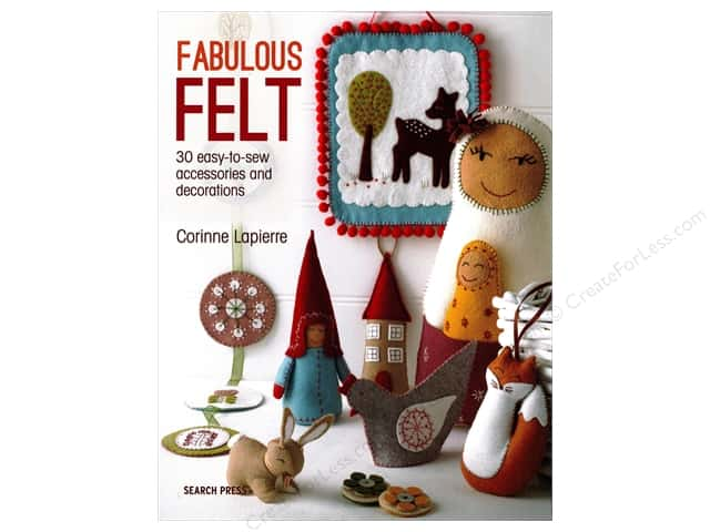 Search Press Fabulous Felt Book