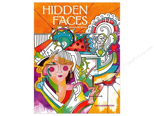 Taunton Press Hidden Faces Coloring Book