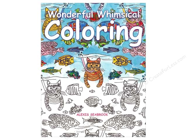 Taunton Press Wonderful Whimsical Coloring Book