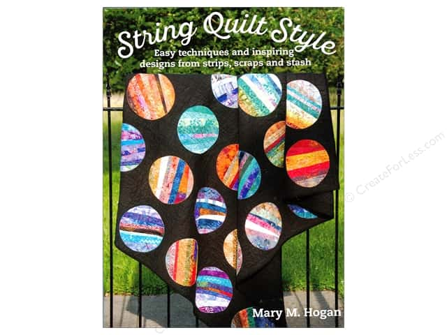 String Quilt Style Book by Mary M. Hogan