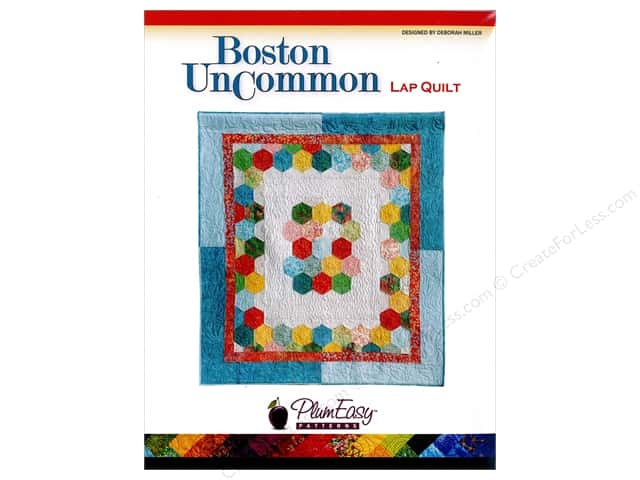 PlumEasy Boston UnCommon Lap Quilt Pattern