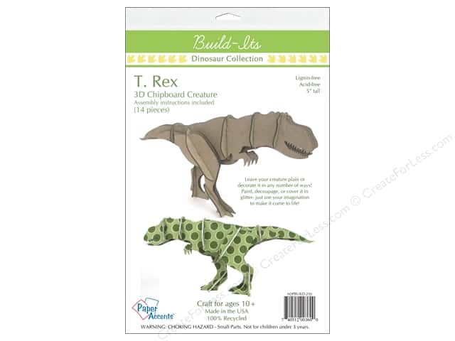 """Paper Accents Build Its Chip T.Rex 5"""" Tall"""