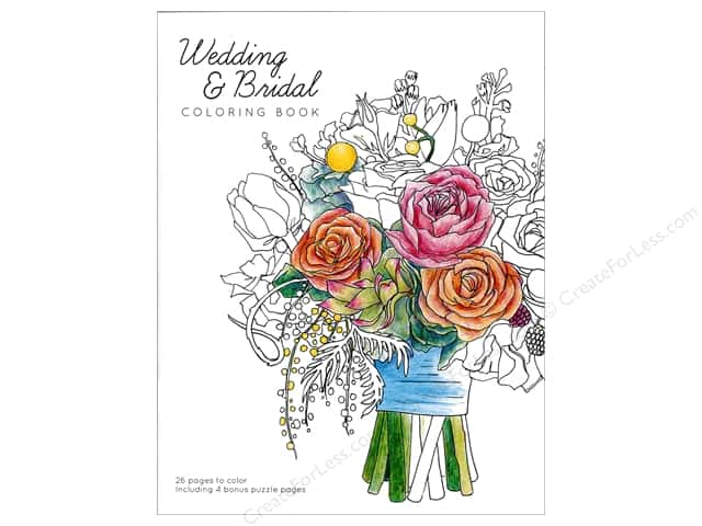 Paper Accents Creative Coloring Coloring Book Wedding & Bridal