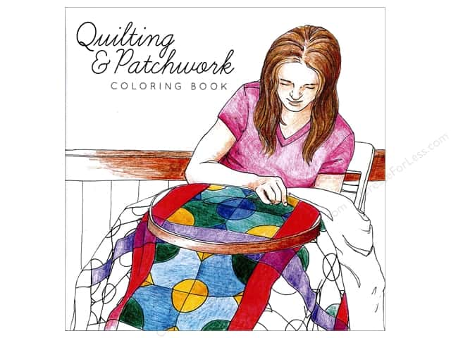 Paper Accents Creative Coloring Coloring Book Quilting & Patchwork