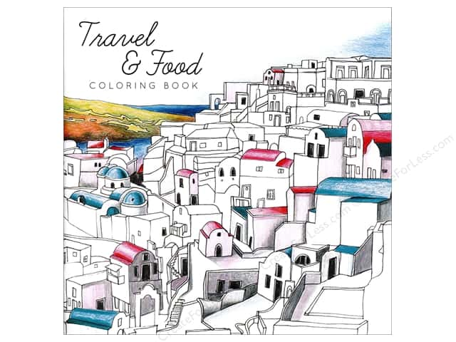 Paper Accents Creative Coloring Coloring Book Travel & Food