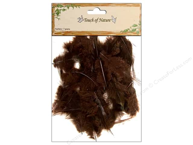 Midwest Design Feather Dyed Hackle 7 gm. Dark Brown