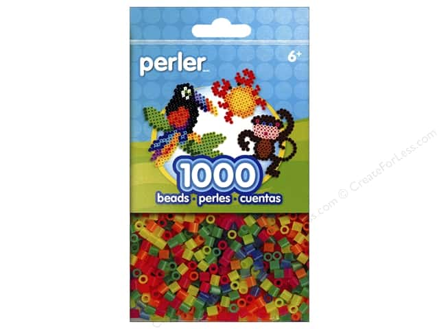 Perler Beads 1000 pc. Neon Mix