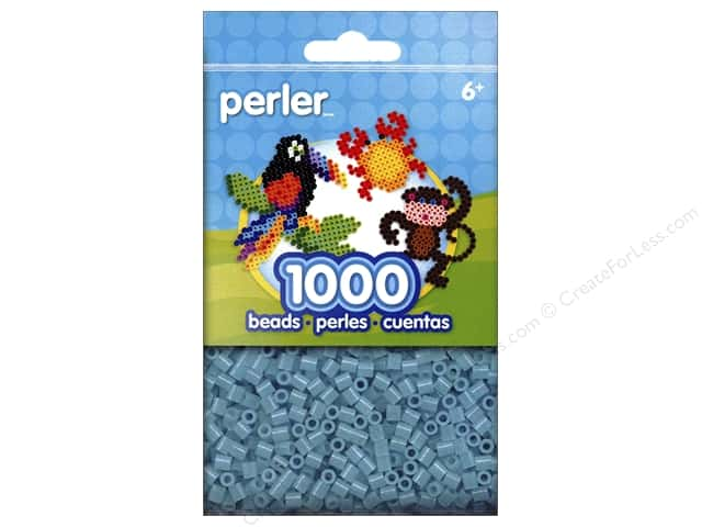 Perler Beads 1000 pc. Clear Blue