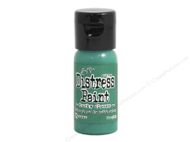 Tim Holtz Distress Paint by Ranger 1 oz. Lucky Clover