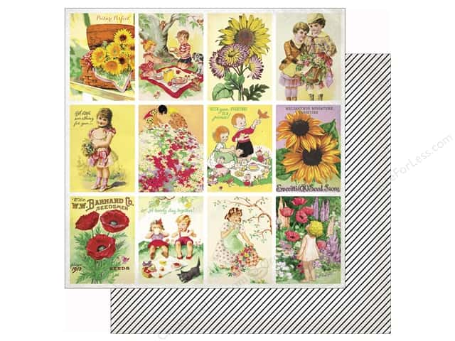 Authentique 12 x 12 in. Paper Cheerful Twelve (25 sheets)