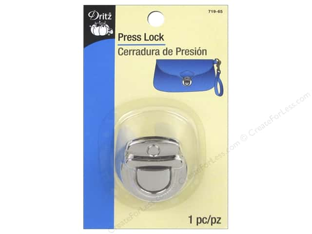 Dritz Press Lock Nickel