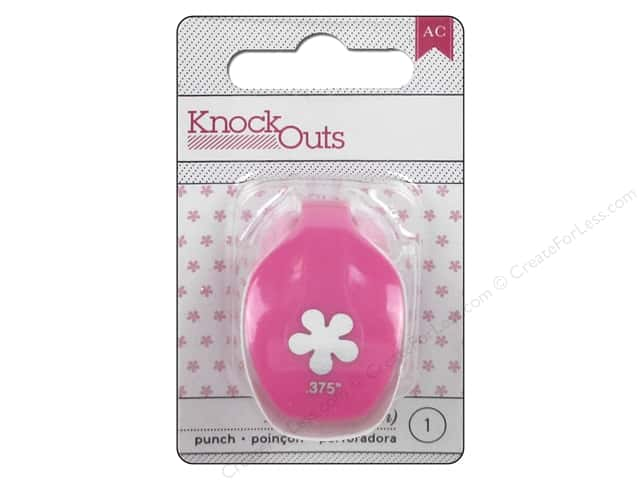 American Crafts Knock Outs Punch 3/8 in. Flower