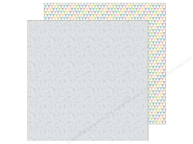 Doodlebug 12 x 12 in. Paper Kitten Smitten Soft Shadows (25 sheets)