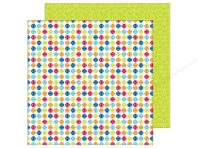 Doodlebug 12 x 12 in. Paper Puppy Love Fetch (25 sheets)