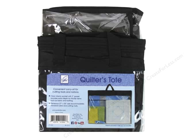 "June Tailor Notions Quilter's Tote 27""x 20"" With Gusset"