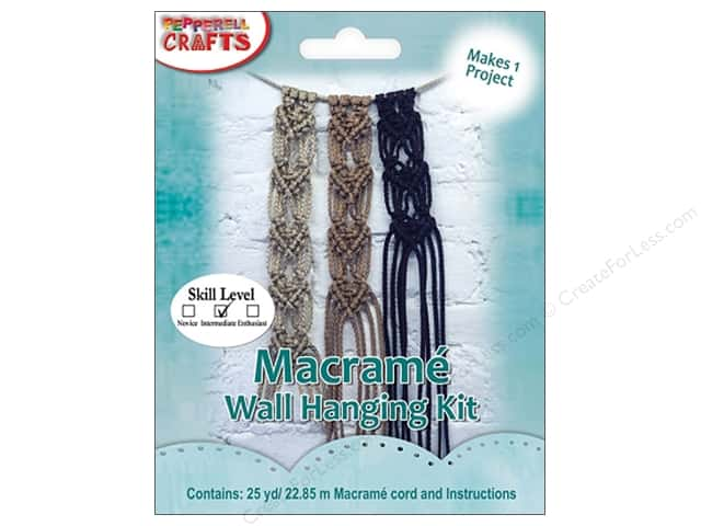 Pepperell Kits Macrame Wall Hanging