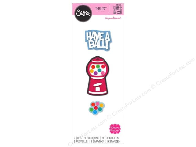 Sizzix Thinlits Die Set 9 pc. Gumball Machine