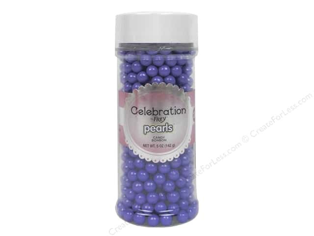 SweetWorks Celebration Pearls 5 oz. Shimmer Lavender