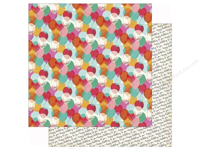 Echo Park 12 x 12 in. Paper Party Time One Year Older (25 sheets)